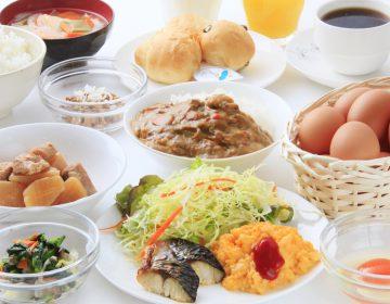 【2名様以上朝食付きプラン】大人気「蘭王たまご」をご賞味ください!!朝はしっかり食べてご出発♪